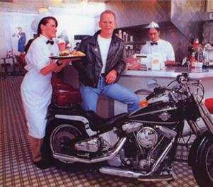El fundador de Johnny Rockets, Ronn Teitelbaum.